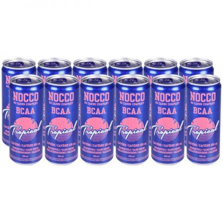 Nocco Tropical 12 x 330ml - Voordeelverpakking