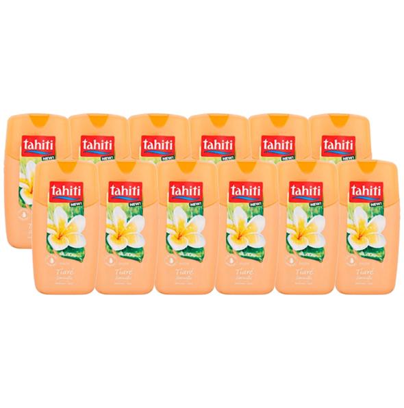 """Tahiti Douchegel """"Tiaré"""" 12 x 250ml - Voordeelverpakking"""