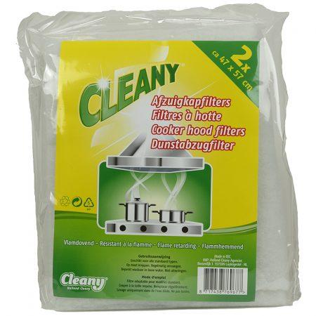 Cleany Afzuigkapfilters 2 Stuks