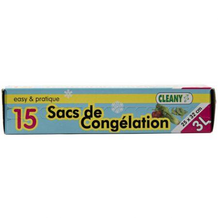 Cleany 15 Diepvrieszakken 3L - 25 x 32cm