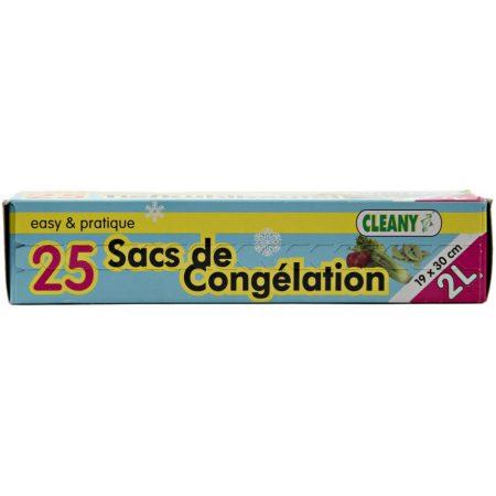 Cleany 25 Diepvrieszakken 2L - 19 x 30cm
