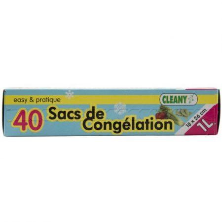 Cleany 40 Diepvrieszakken 1L - 18 x 26cm