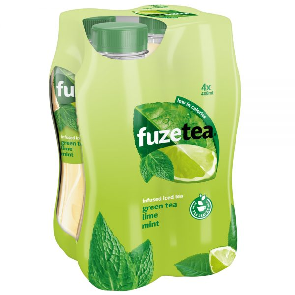 Fuze Tea Green Tea Lime Mint 4 x 400ml