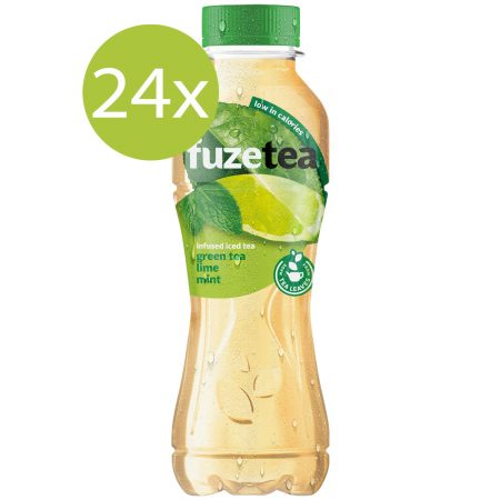 Fuze Tea Green Tea Lime Mint 24 x 400ml