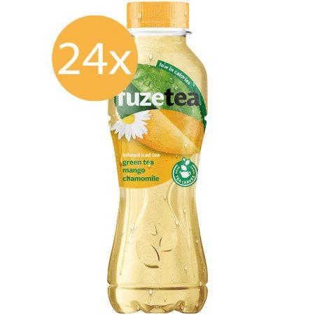 Fuze Tea Green Tea Mango & Chamomile 24 x 400ml