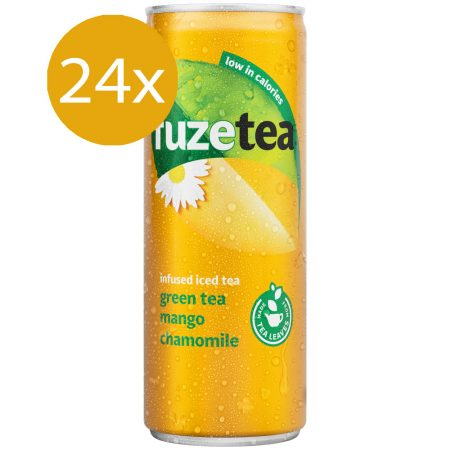Fuze Tea Green Tea Mango & Chamomile 24 x 250ml