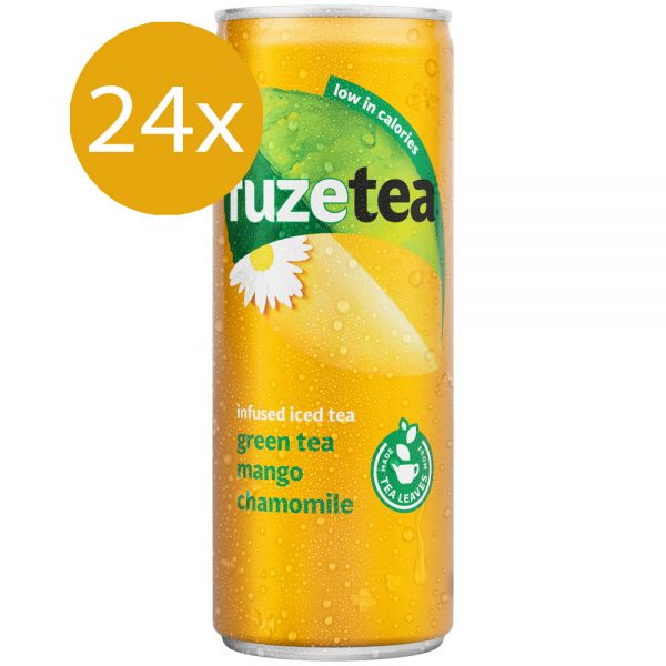 Fuze Tea Green Tea Mango & Chamomile 24 x 250ml