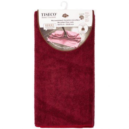 Tiseco Home Essentials Microvezeldweil x3 Bordeaux 50x70cm