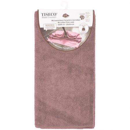 Tiseco Home Essentials Microvezeldweil x3 Mauve 50x70cm