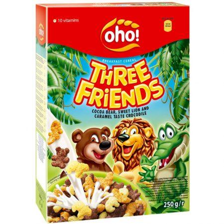 Oho! Cornflakes Three Friends 250g
