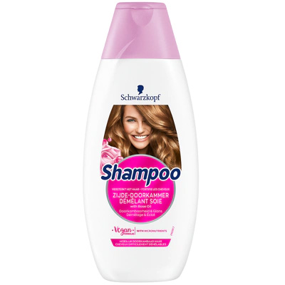 """Schwarzkopf Shampoo """"Zijde-doorkammer"""" 400ml"""