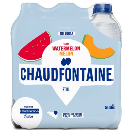 Chaudfontaine Watermelon & Melon 6 x 500ml