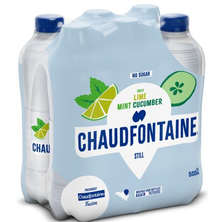 Chaudfontaine Lime, Mint & Cucumber 6 x 500ml