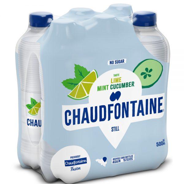 Chaudfontaine Lime, Mint & Cucumber 6 x 500ml