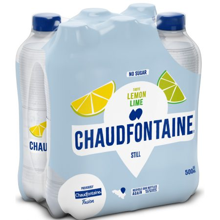 Chaudfontaine Lemon & Lime 6 x 500ml