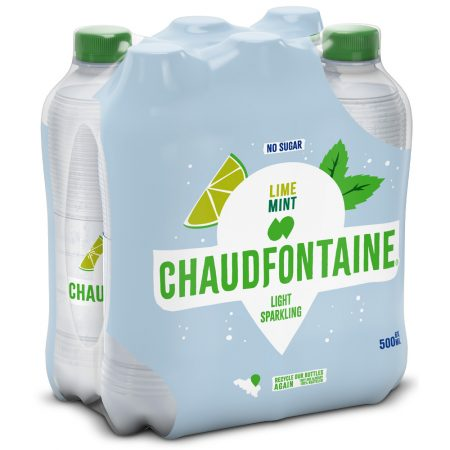 Chaudfontaine Lime & Mint 6 x 500ml