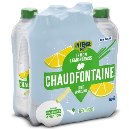 Chaudfontaine Intense Lemon & Lemongrass 6 x 500ml