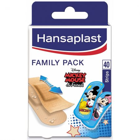 Hansaplast Pleisters Family Pack 40 Stuks