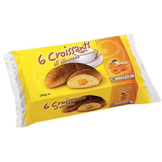 Croissant Abrikoos Confituur – Apart verpakt 6x45gr