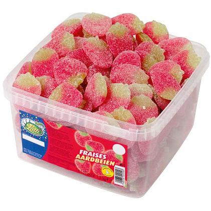 Lutti Gesuikerde Aardbeien 1,5kg