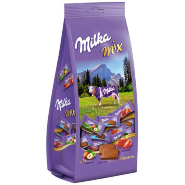 Milka Mini Chocolade Mix - Apart verpakt 340gr/70st