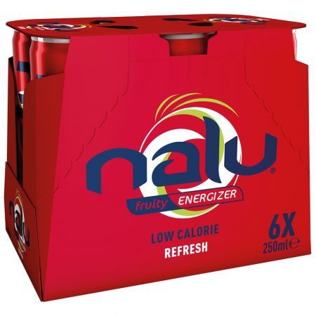Nalu Fruity Energizer Refresh 6 x 25cl