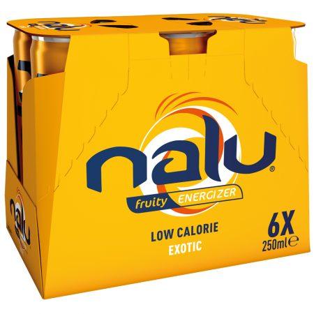 Nalu Fruity Energizer Exotic 6 x 25cl