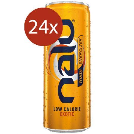 Nalu Fruity Energizer Exotic 24 x 25cl - Voordeelverpakking