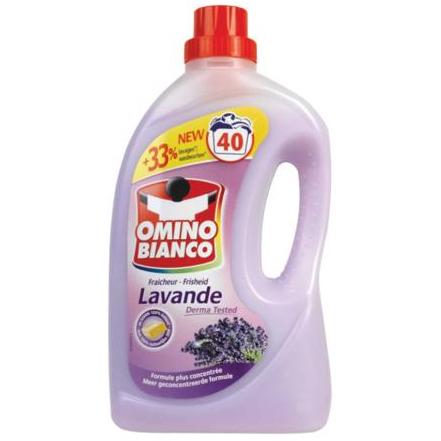 Omino Bianco Wasmiddel Lavendel 2000ml 40wasb