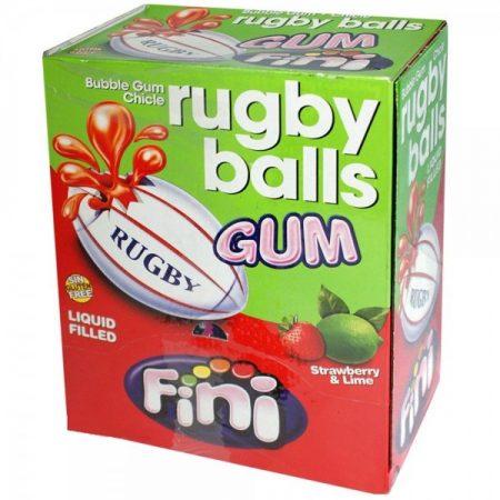 Fini Kauwgom Rugby Balls - 200 stuks
