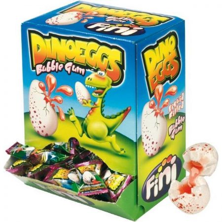 Fini Kauwgom Dino Eggs - 200 stuks