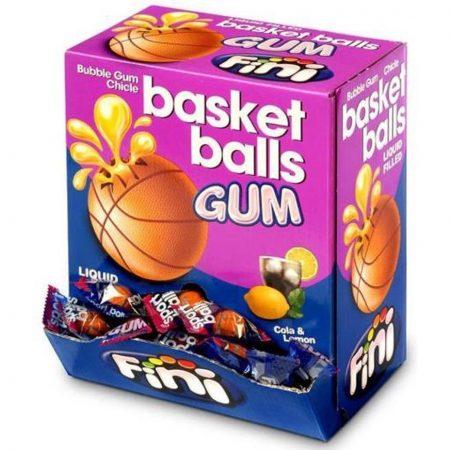 Fini Kauwgom Basket Balls - 200 stuks