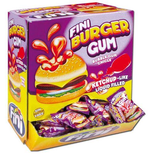 Fini Kauwgom Burger - 200 stuks
