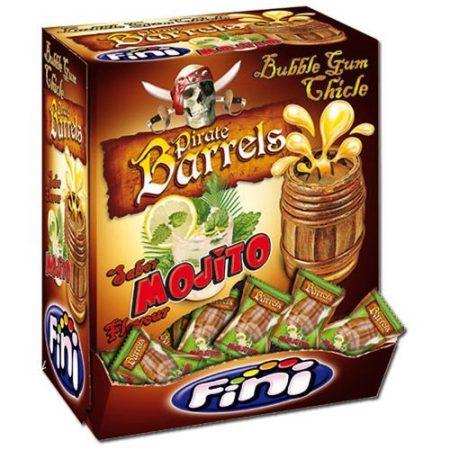Fini Kauwgom Pirate Barrels - 200 stuks