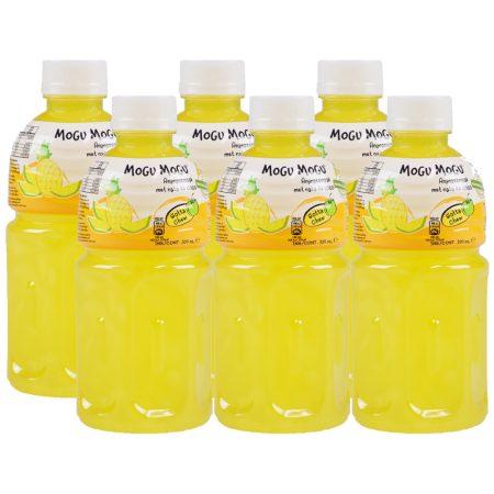 "Mogu Mogu Fruitdrink ""Ananas Smaak"" 6 x 320ml - Voordeelverpakking"