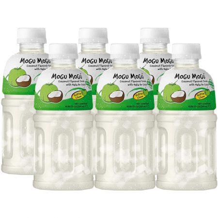 """Mogu Mogu Fruitdrink """"Kokosnoot Smaak"""" 6 x 320ml - Voordeelverpakking"""