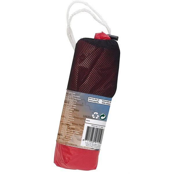 Regenponcho Voor Volwassenen Rood