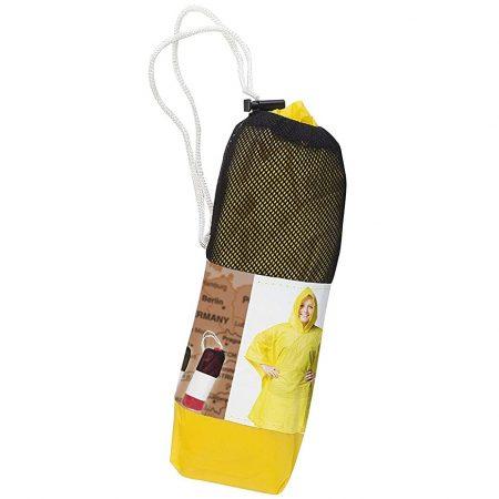 Regenponcho Voor Volwassenen Geel