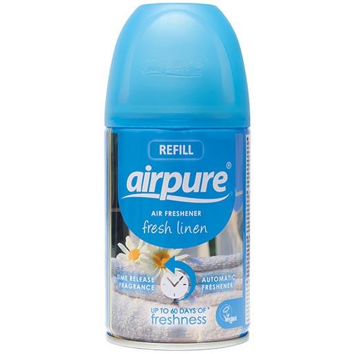 """Airpure Air-O-Matic Navulling """"Fresh Linen"""" 250ml"""