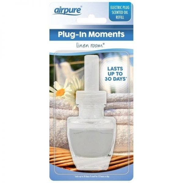 """Airpure Plug-In Moments Geur """"Linen Room"""" 20ml"""