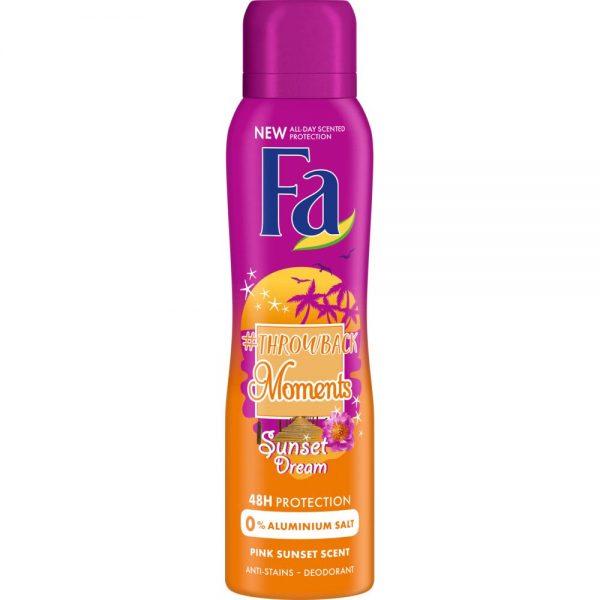 "Fa Deodorant ""#Throwback Moments - Sunset Dream"" 150ml"