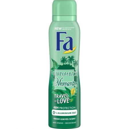 "Fa Deodorant ""#Throwback Moments - Travel Love"" 150ml"
