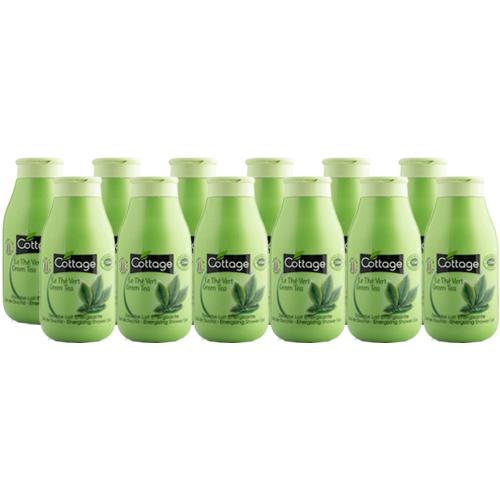 Cottage Douchegel Green Tea - Voordeelverpakking 12 x 250ml