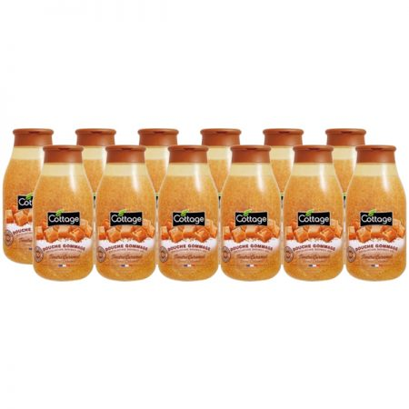 Cottage Scrub Douchegel Sweet Caramel - Voordeelverpakking 12 x 270ml