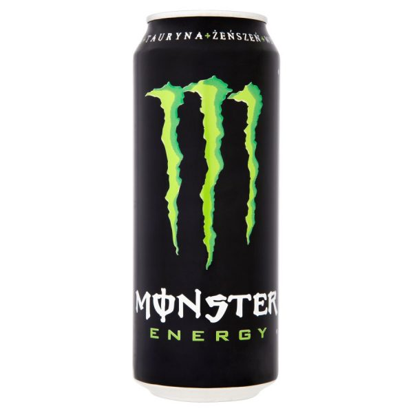 "Monster Energy drink ""Original"" 500ml Import PL"