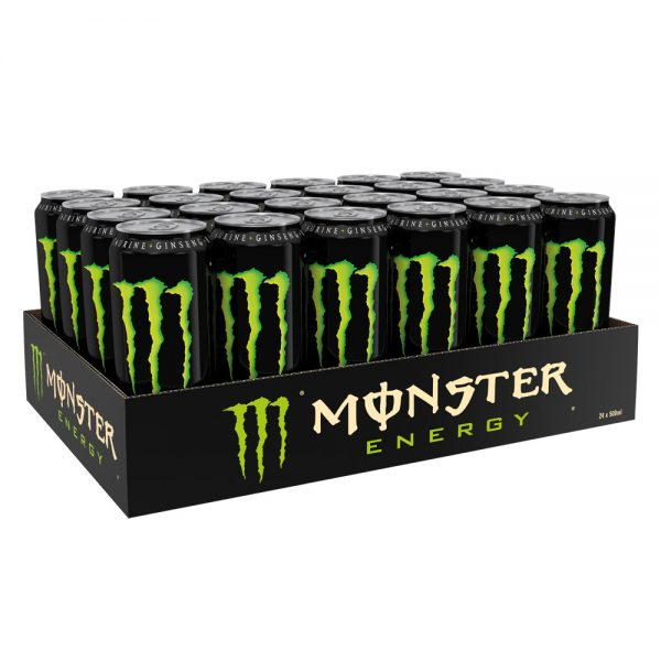 Monster Energy Drink Original Import PL 24 x 500ml – Voordeelverpakking