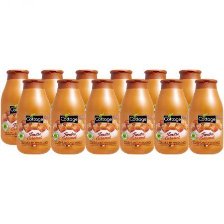 Cottage Douchemelk - Caramel Voordeelverpakking 12 x 250ml