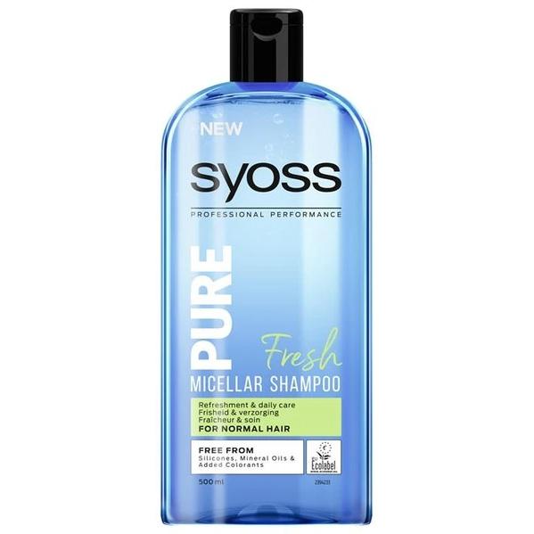Syoss Shampoo Pure Fresh 500ml