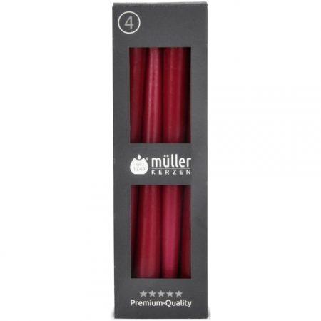 Müller Tafelkaarsen Wijn Rood 4 stuks - 7 uur