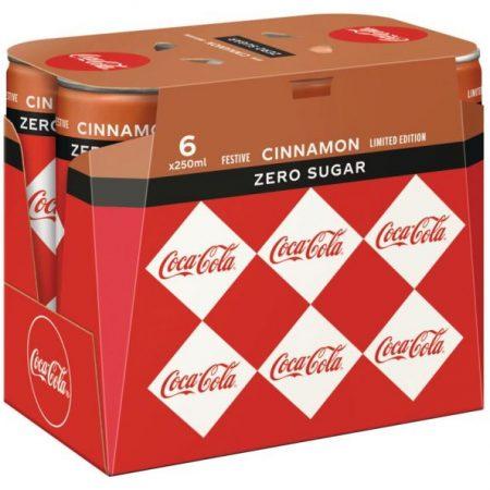 Coca Cola Zero Cinnamon 6 x 250ml